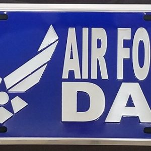 Air Force Dad Plate