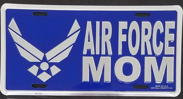 Air Force Mom Plate