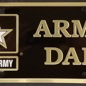 Army Dad Plate